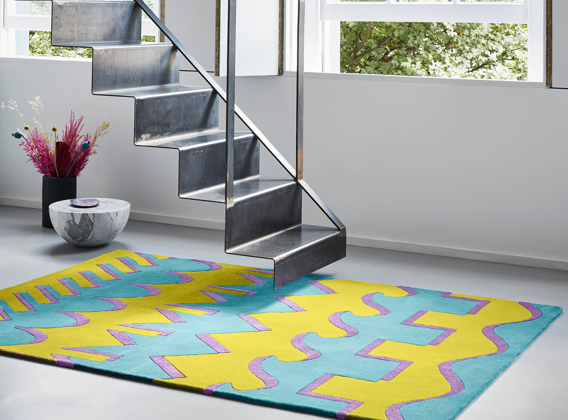 Dipylon NZ wool rug Floor Story