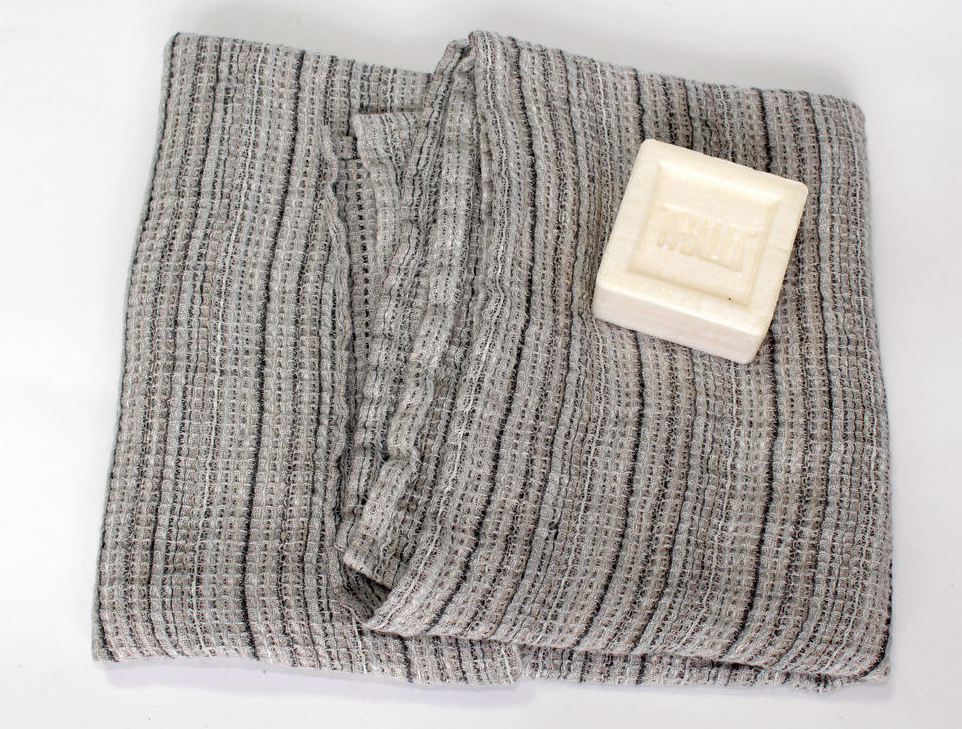 Linen bath towel, 100 % Lithuanian linen, from LinenWorld on Etsy