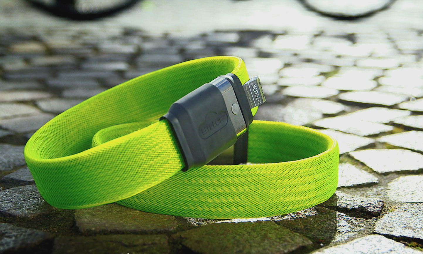 Litelok is a new lightweight lock perfect for bicycles, invented by a Brit and made in Wales. £85