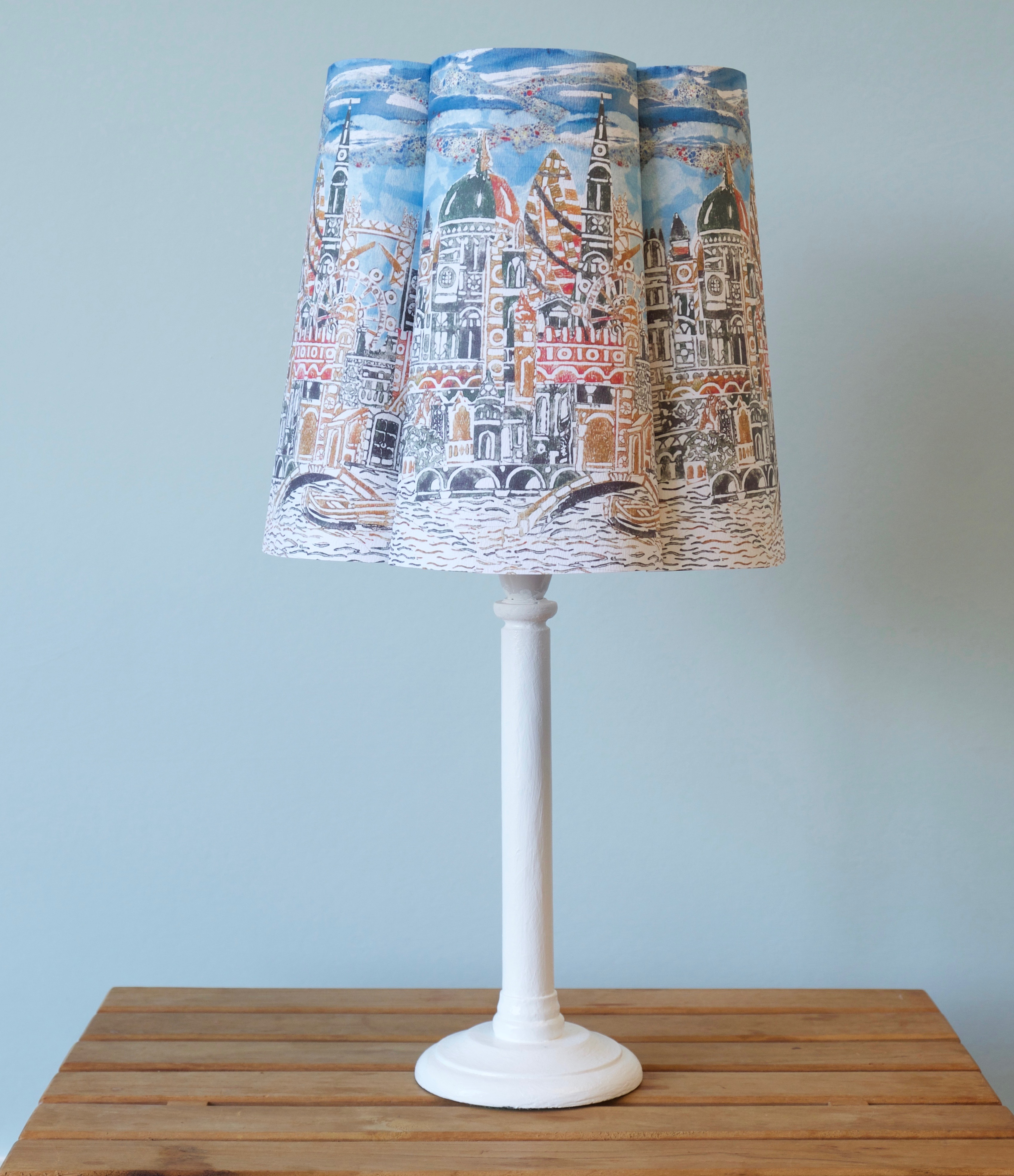 London papershade  by Ros Freeborn