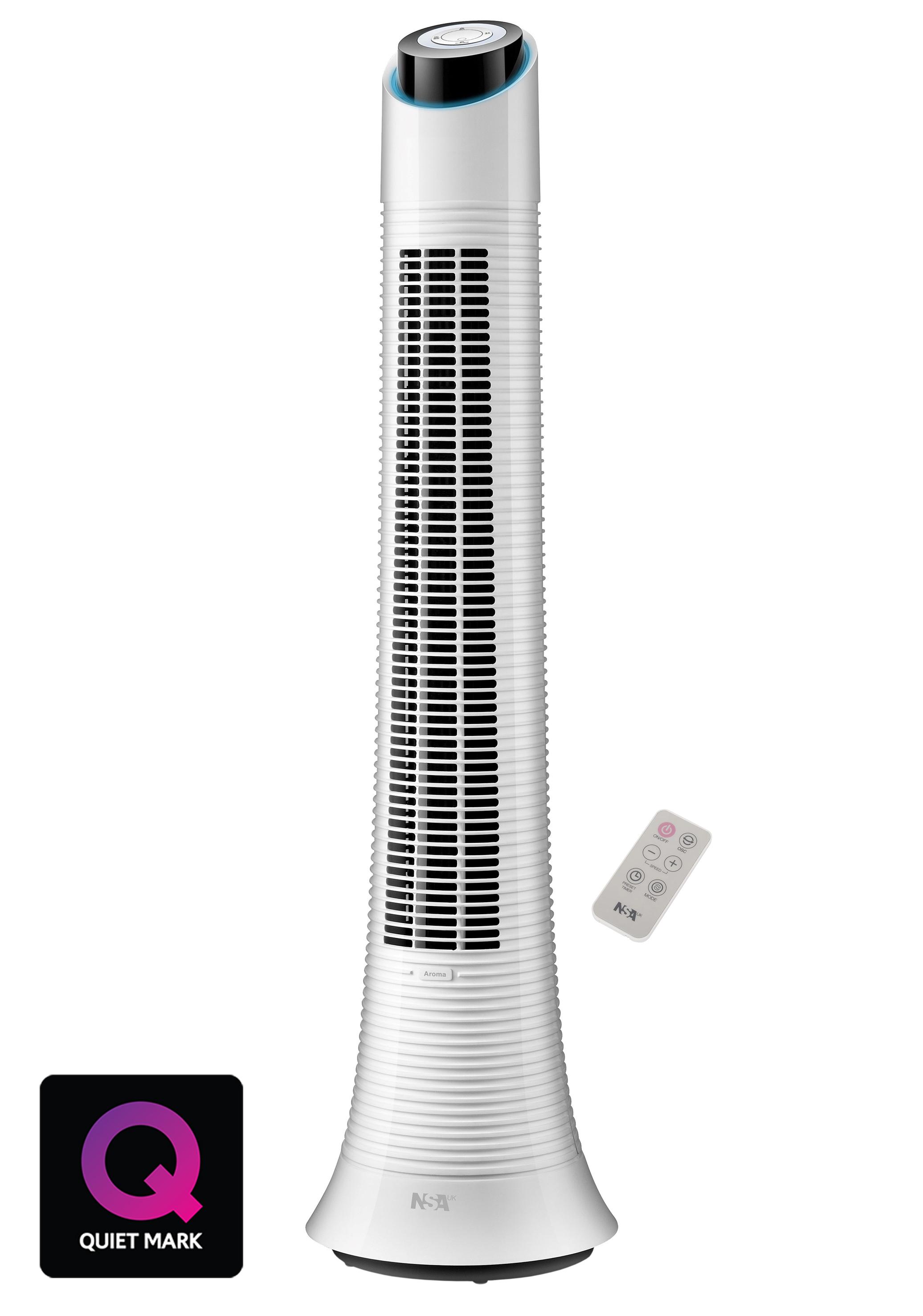NSAuk TRFDEC-50RC rechargeable column fan, £199.99