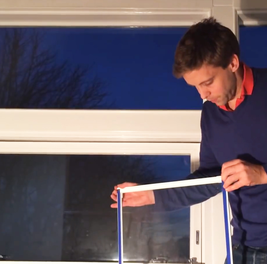 Ecoease secondary glazing panels are just 3mm thick and held in place by magnetic strips. From £110m