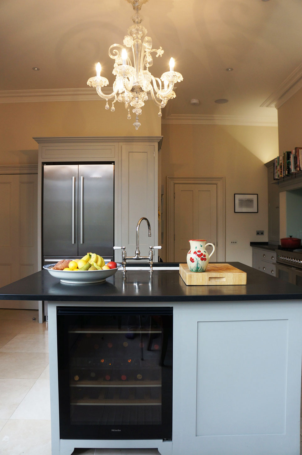 Painted wood kitchen by Plain English