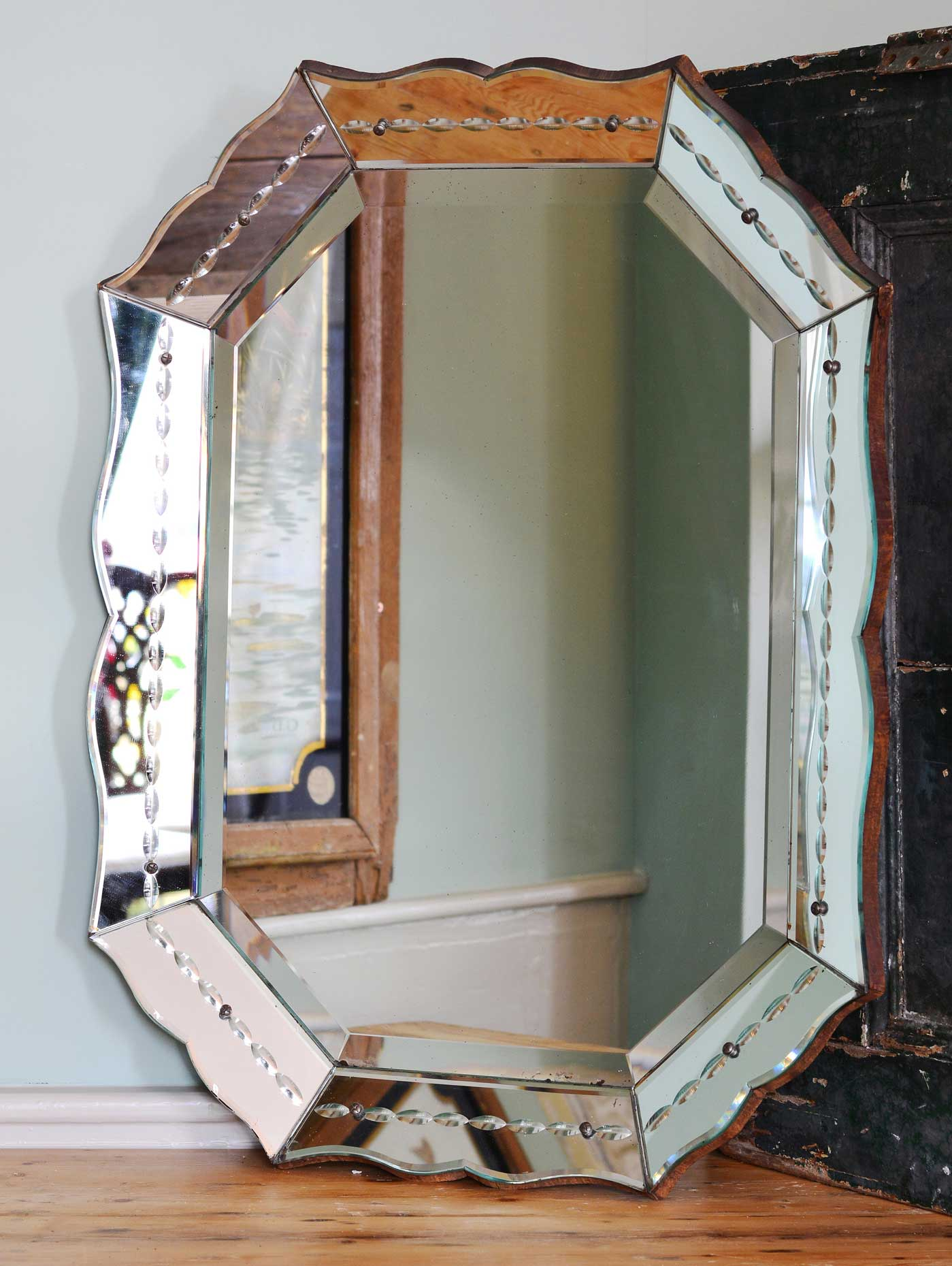 Lassco offers antique and vintage mirrors, either original or with new plate. www.lassco.co.uk