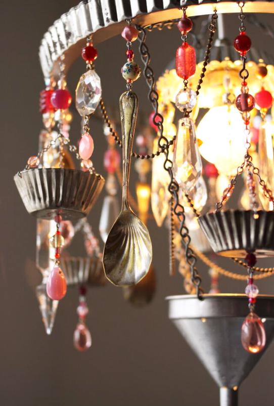 Each chandeliers is unique