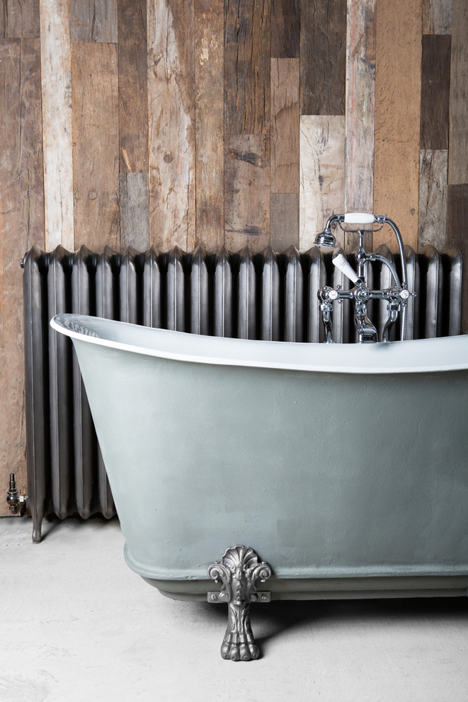 Masco has a lot of reclaimed baths, including antique roll top and slipper baths, which it restores