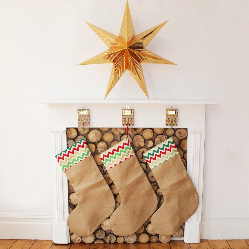 Hessian stockings by dejaooh, £26