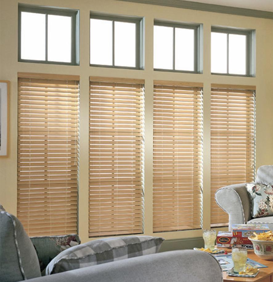 Wooden Venetian blinds are timeless