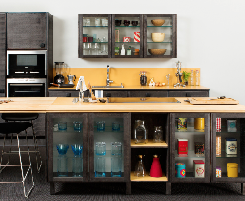 Finnish brand Puuustelli Miinus has developed a highly eco friendly kitchen system