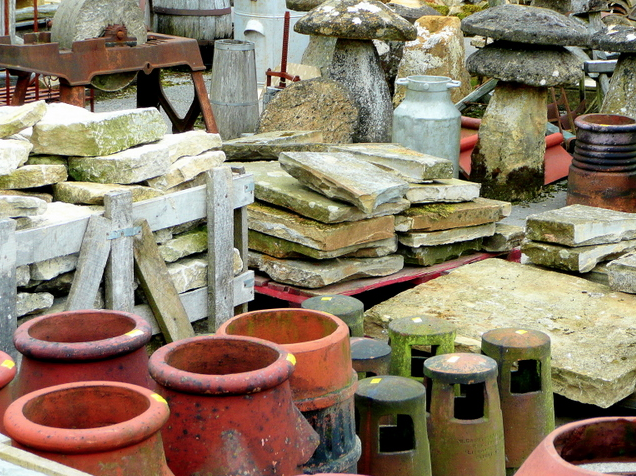 You may find your imagination is fired up after a walk around a reclamation yard
