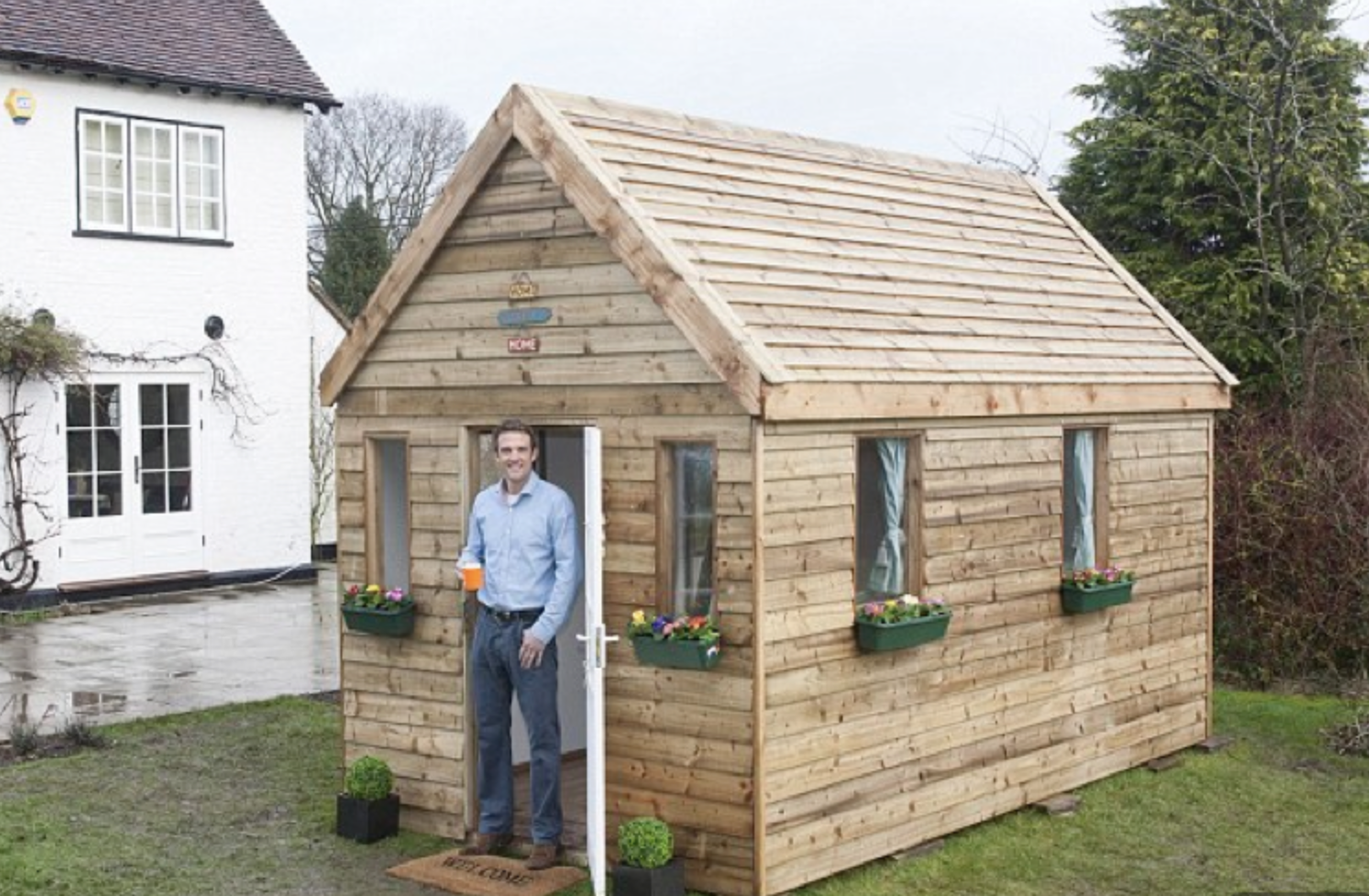A Tiny House UK kit costs from £6,500. Expect assembly time of 2 days. www.tinyhouseuk.co.uk