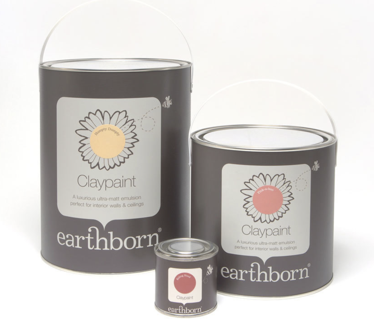 Earthborn Clay Paints carry the EU Eco-Labelflower symbol.