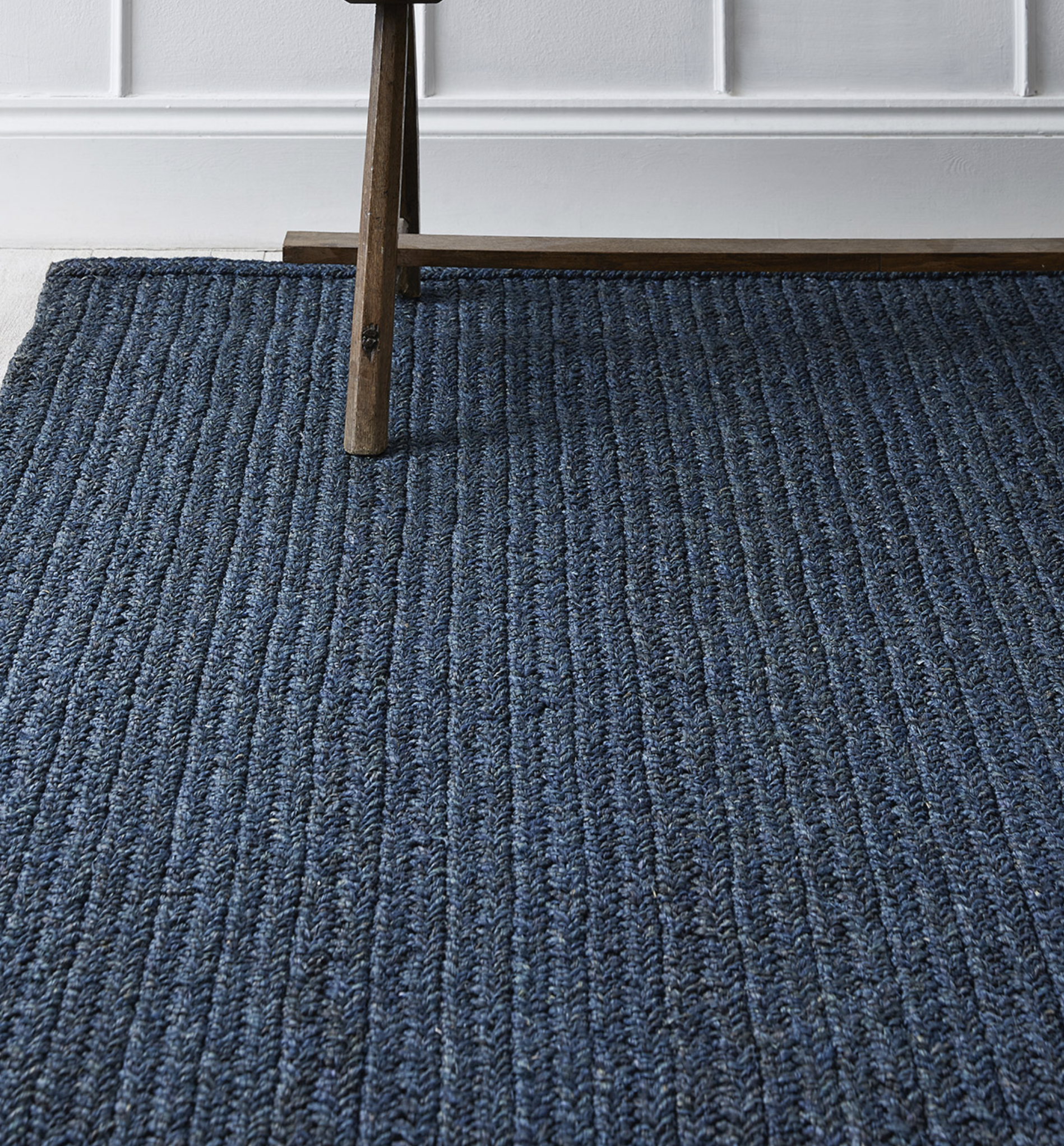 Fibre from the okra plant can be woven into flooring. Flock Living Ltd offers okra flooring