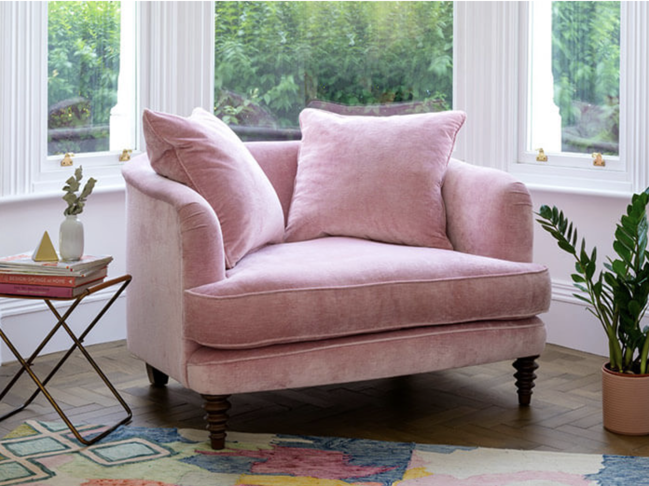 Sink in comfort..Helmsley chair from Sofas & Stuff
