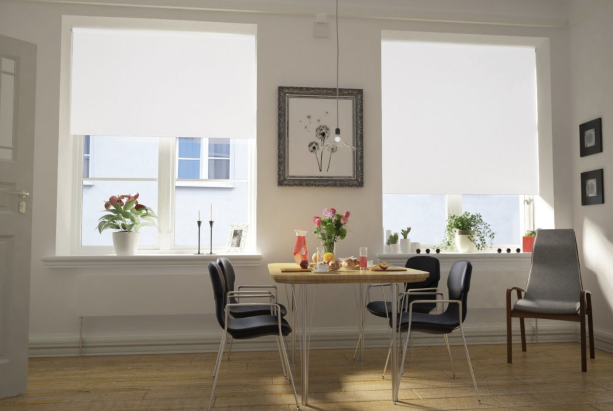Roller blinds from dotcomblinds