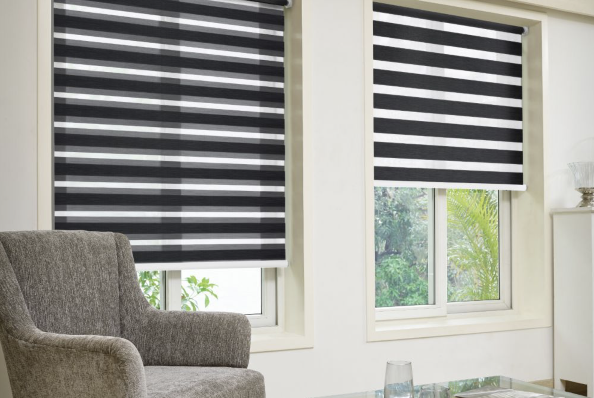Night and Day blinds are a fairly new product for window treatments