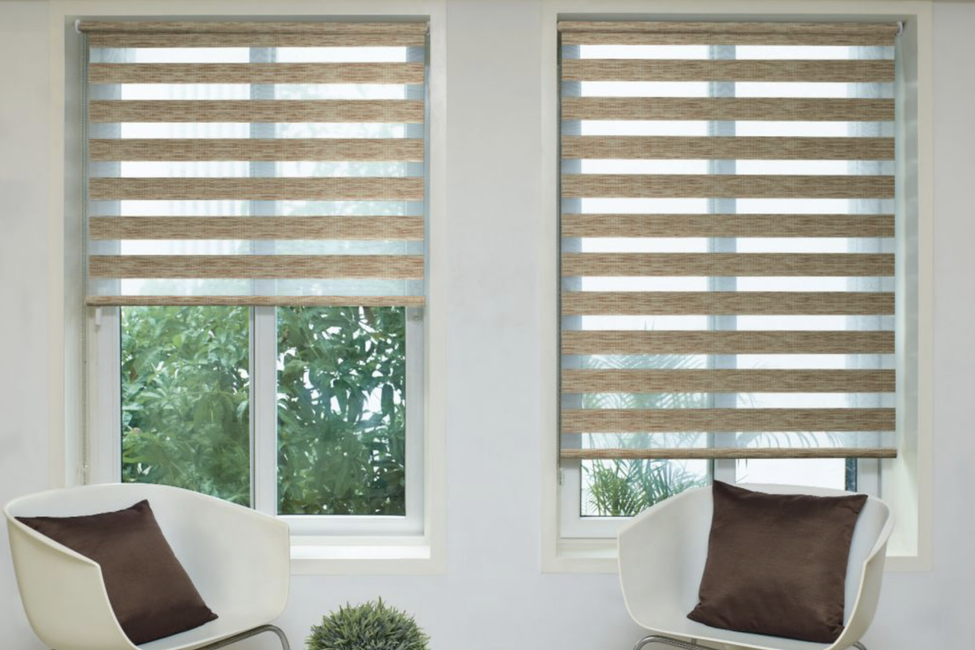 Night and Day blinds are both minimalist and eye catching