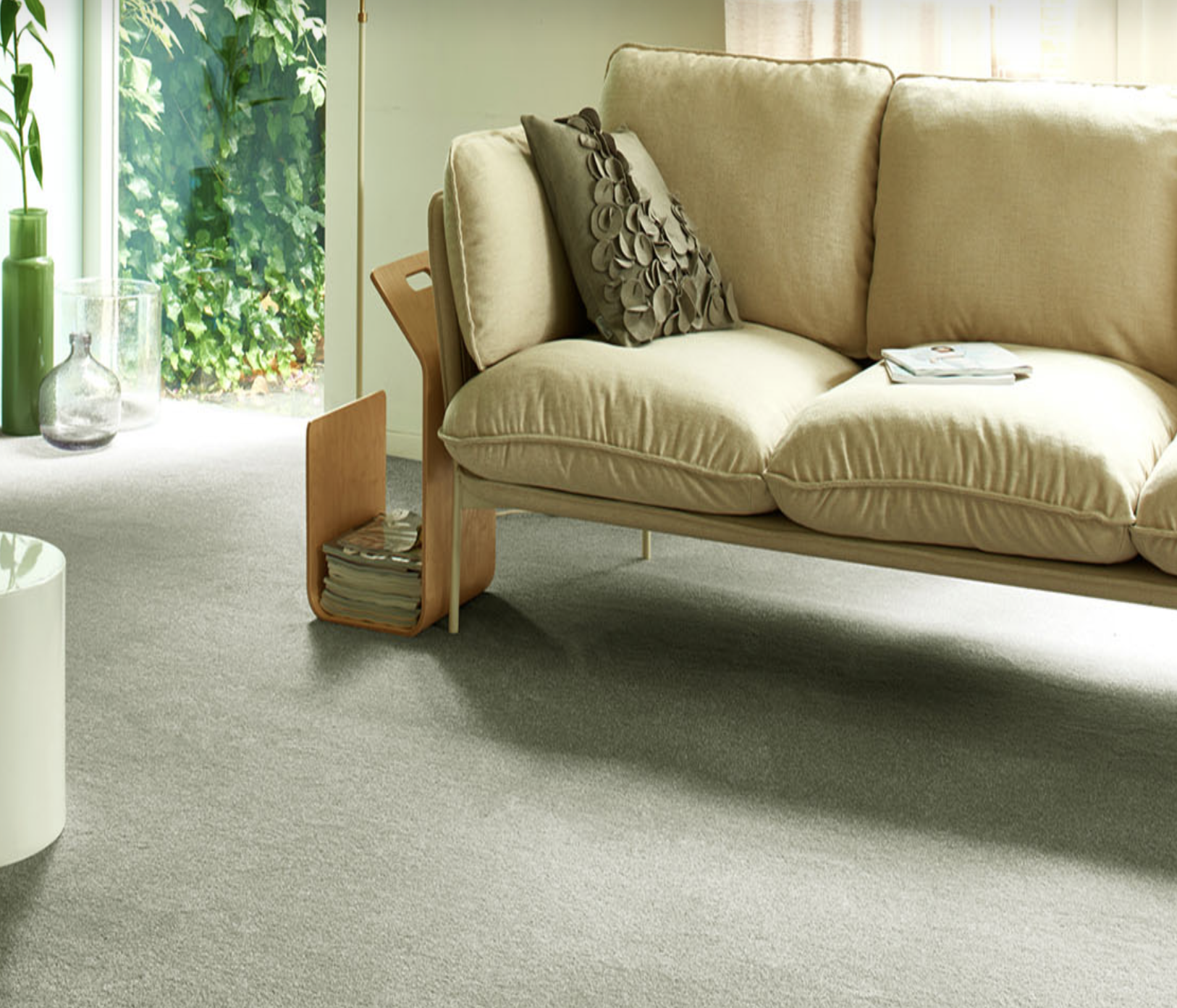 Sedna Carpets offers lovely soft Econyl carpets with a 20 year wear guarantee
