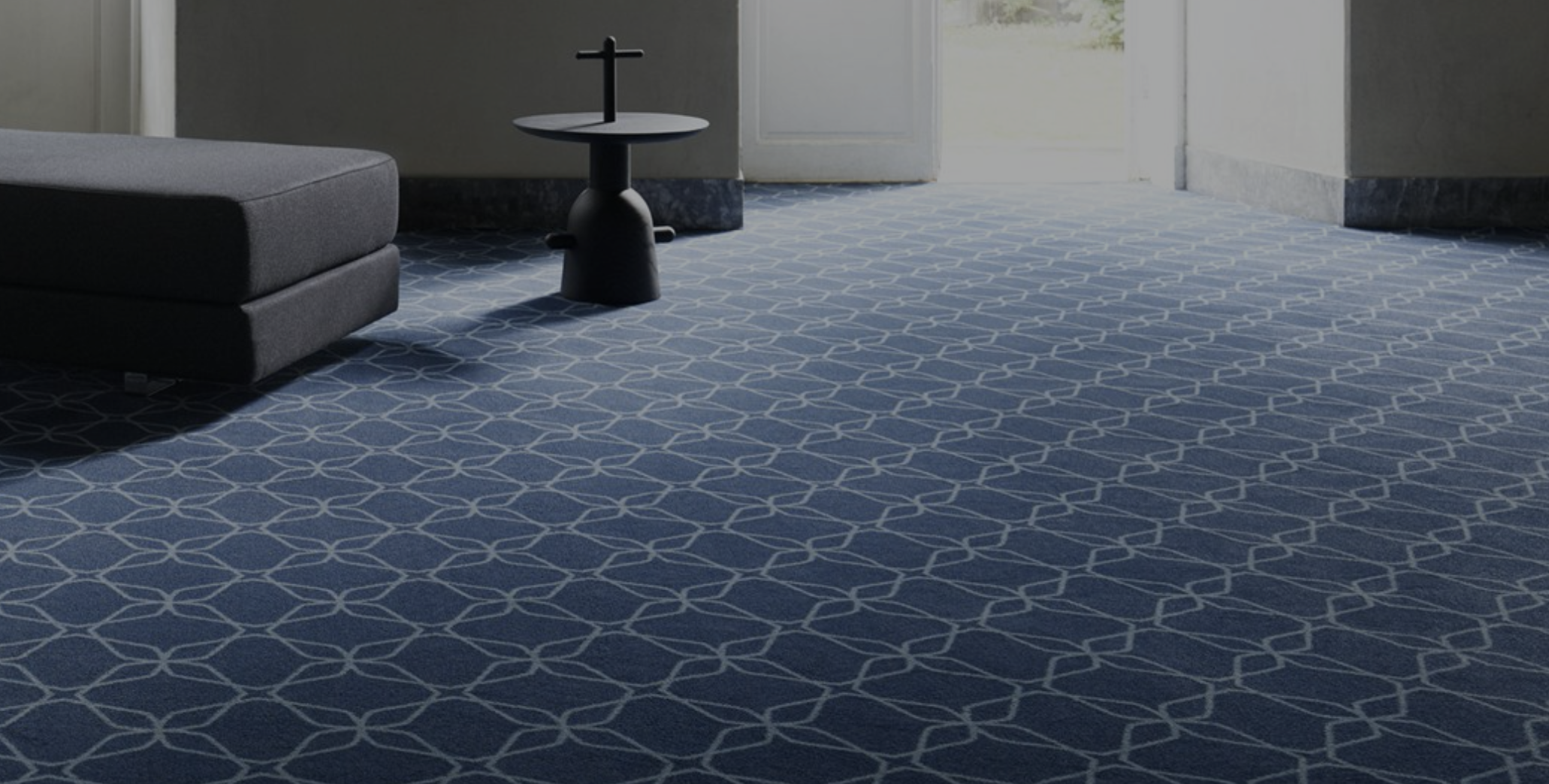 Ege Carpets make collections use Econyl, fibre made from recycled fishing nets