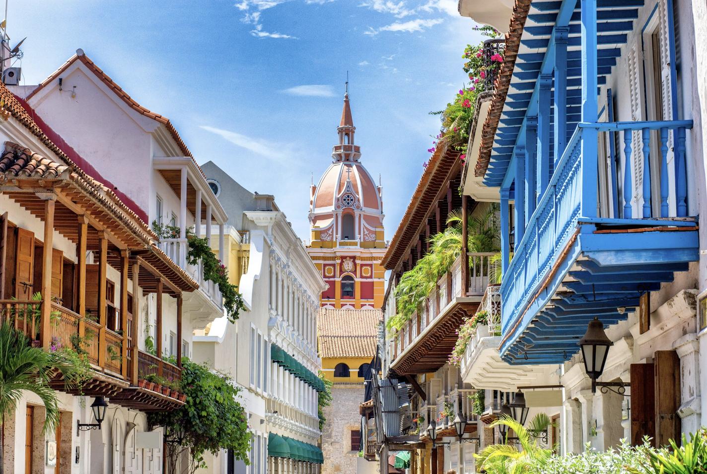 Cartagena is a beautiful city