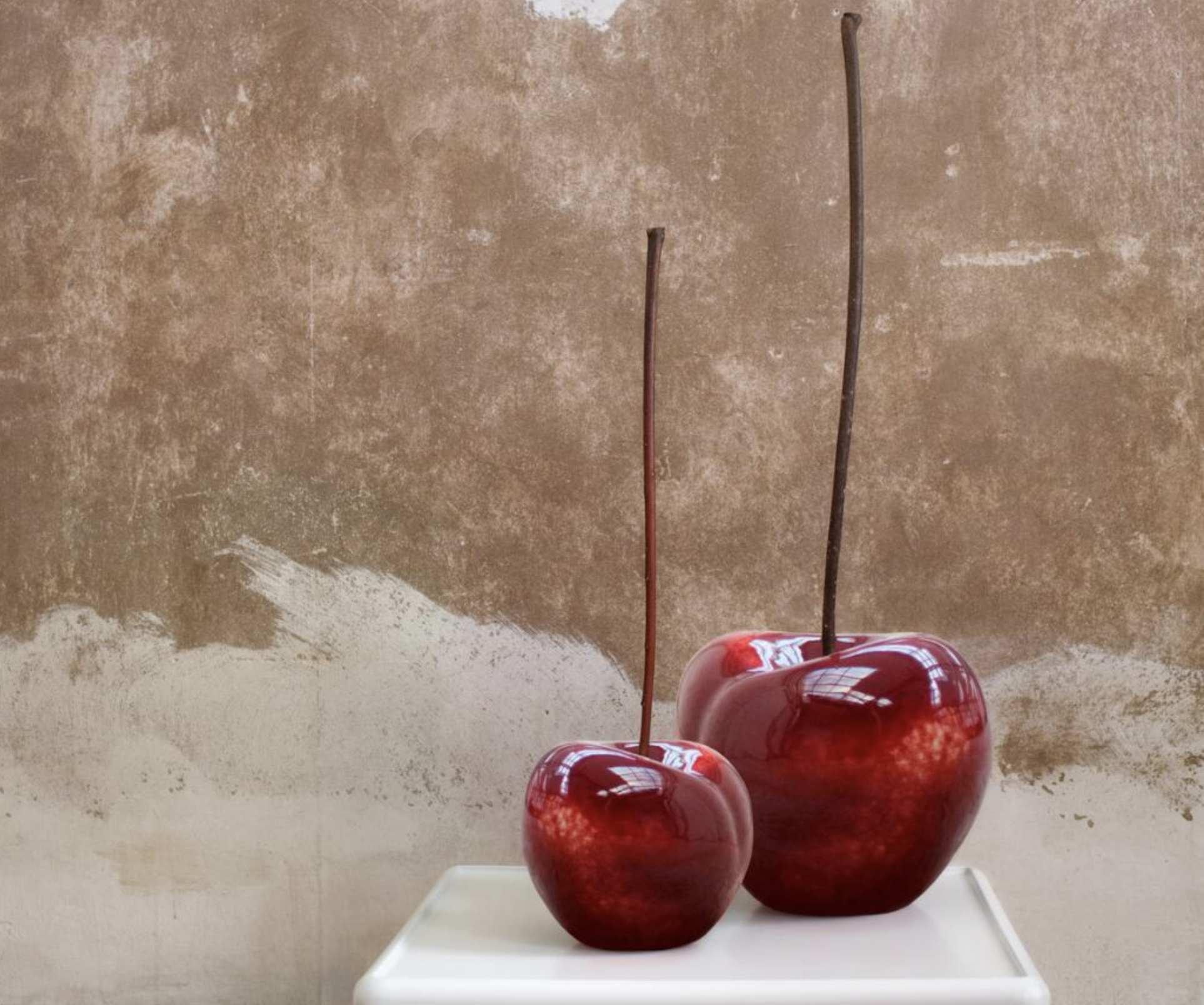 ceramic cherries