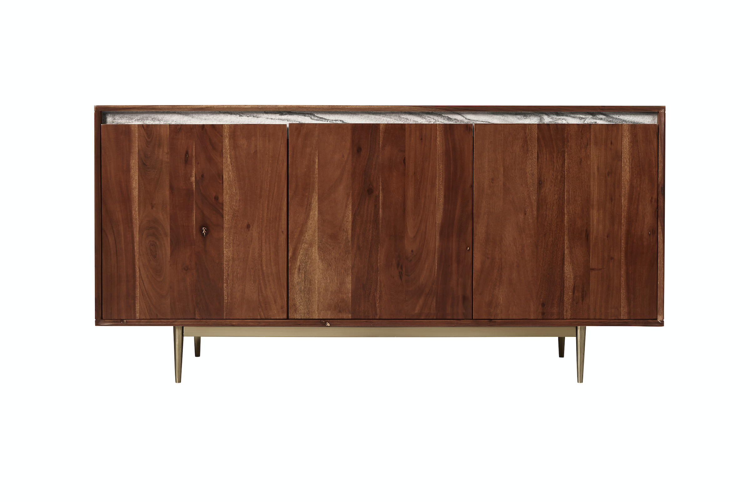Acacia wood with steel legs, Fargo sideboard at Swoon Editions, £629