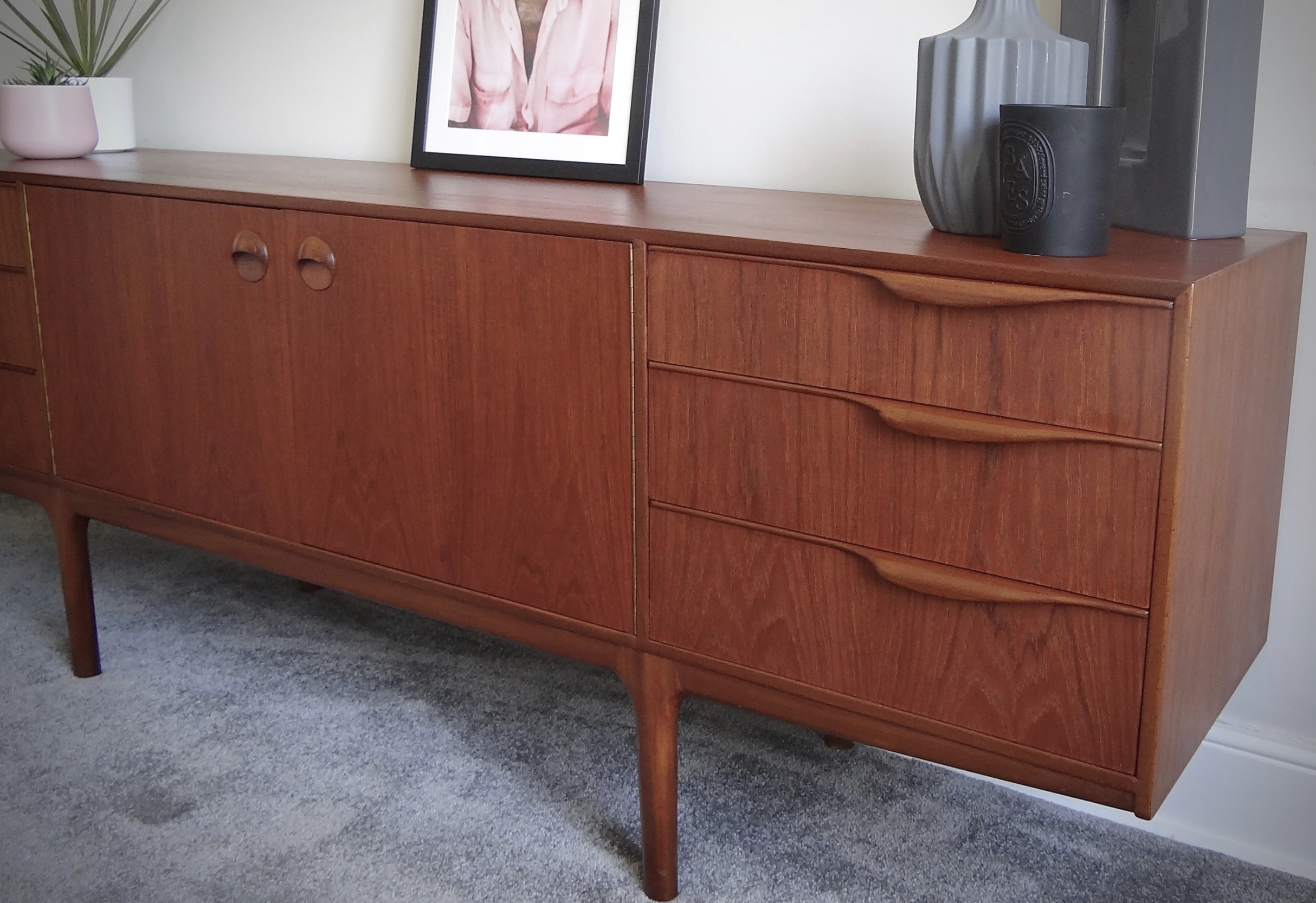 1960s AC McIntosh teak sideboard £985 at vinteriors.co