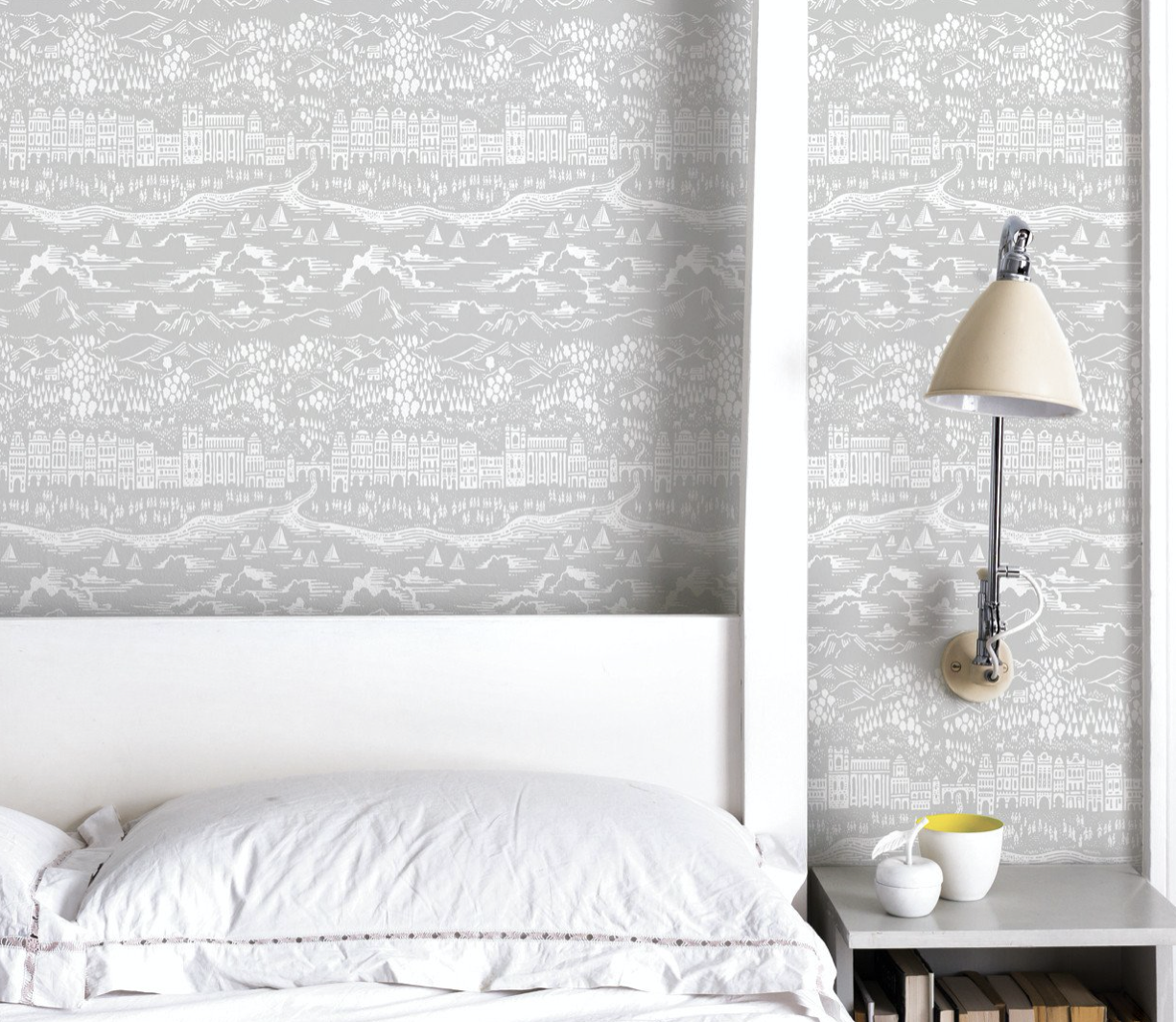 UK company Bold & Noble's wallpapers are printed on FSC paper £38 a roll