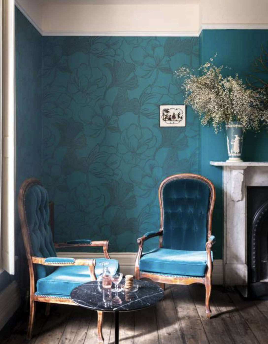 Farrow & Ball wallpaper is made using the company's paint on paper. Recyclable as paper