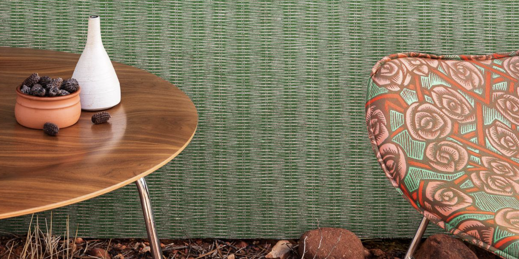 Australia's Woven Image makes acoustic wallpaper using 60% recycled PET