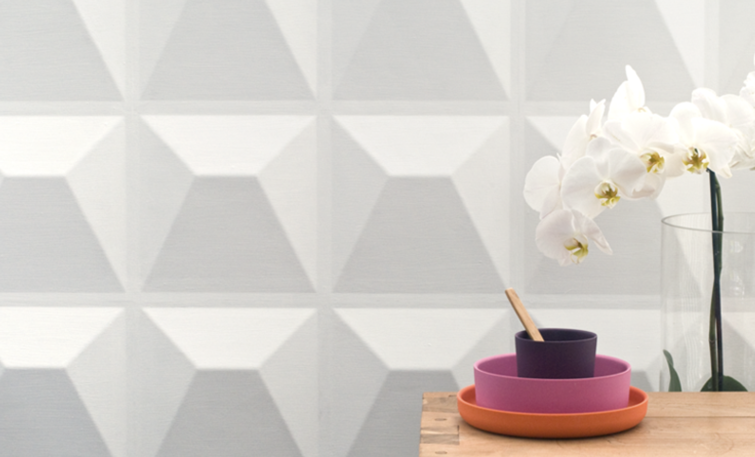 Bamboo fibre wall panels from 3dwalldecor, based in the Netherlands