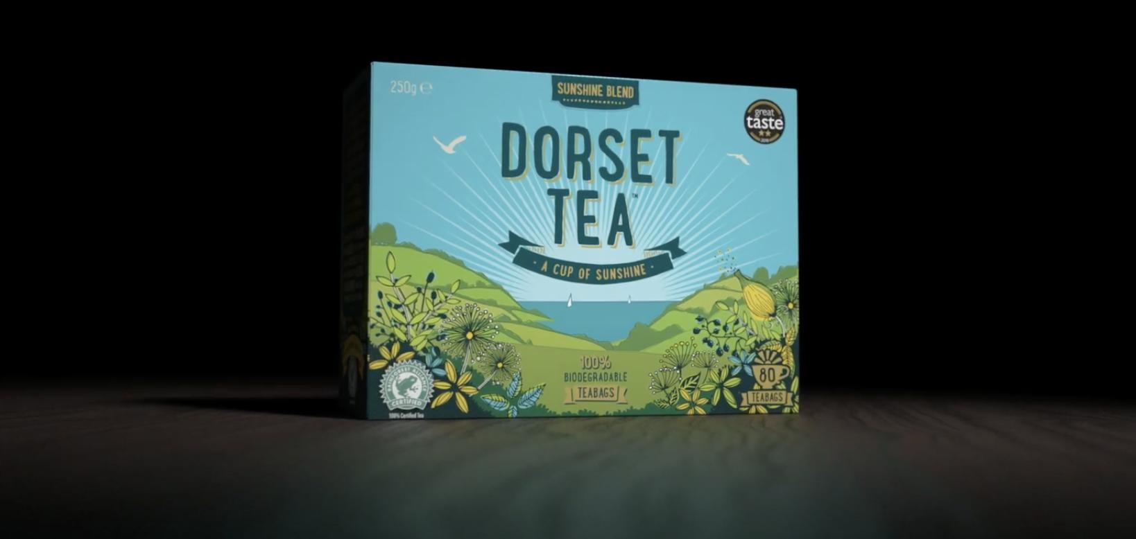 Dorset Tea biodegradable teabags