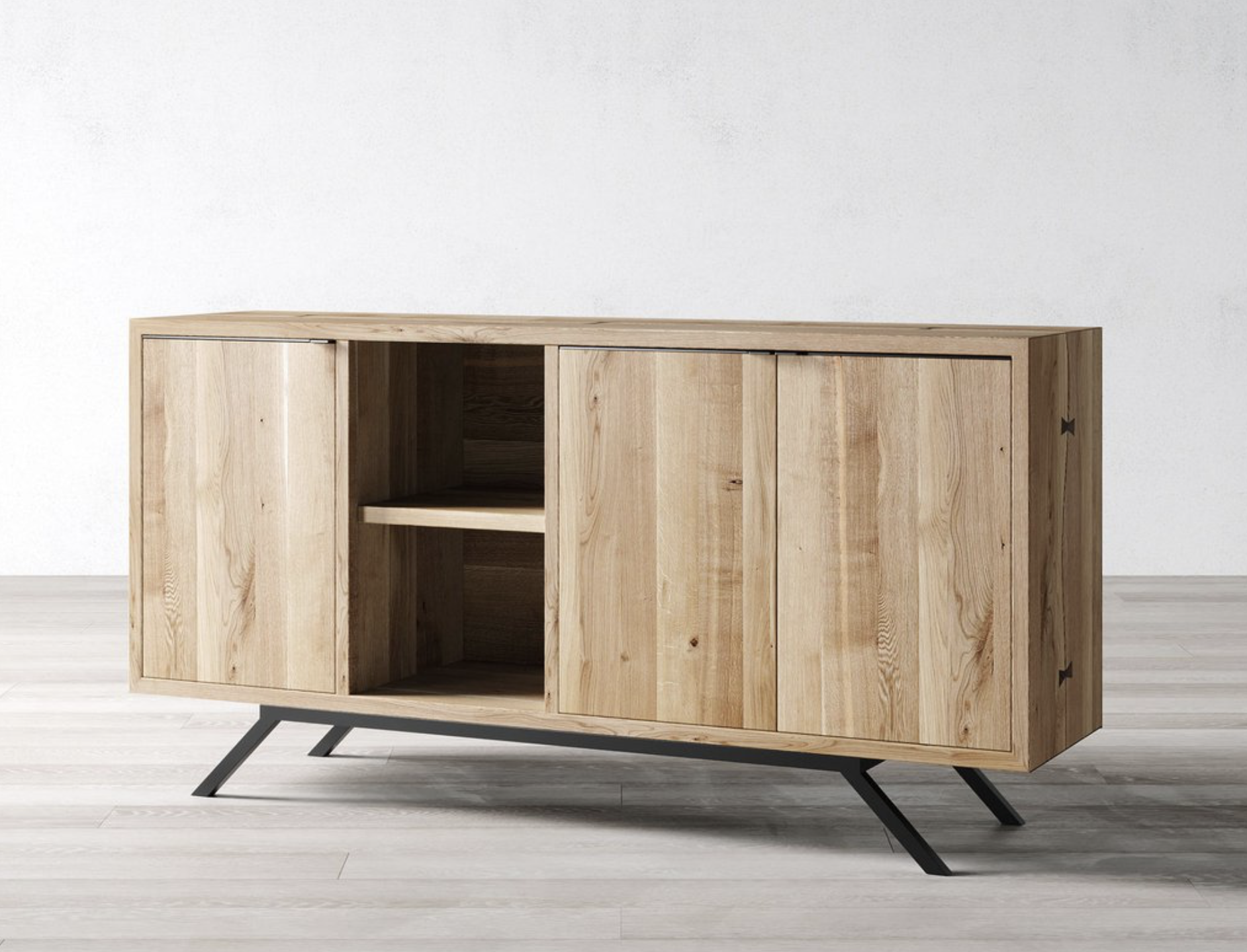 Windsor Oak sideboard from UK maker Cosywood, £1995