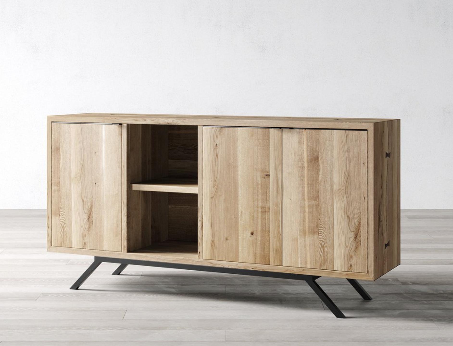 Windsor Oak sideboard from UK maker Cosywood, £1995