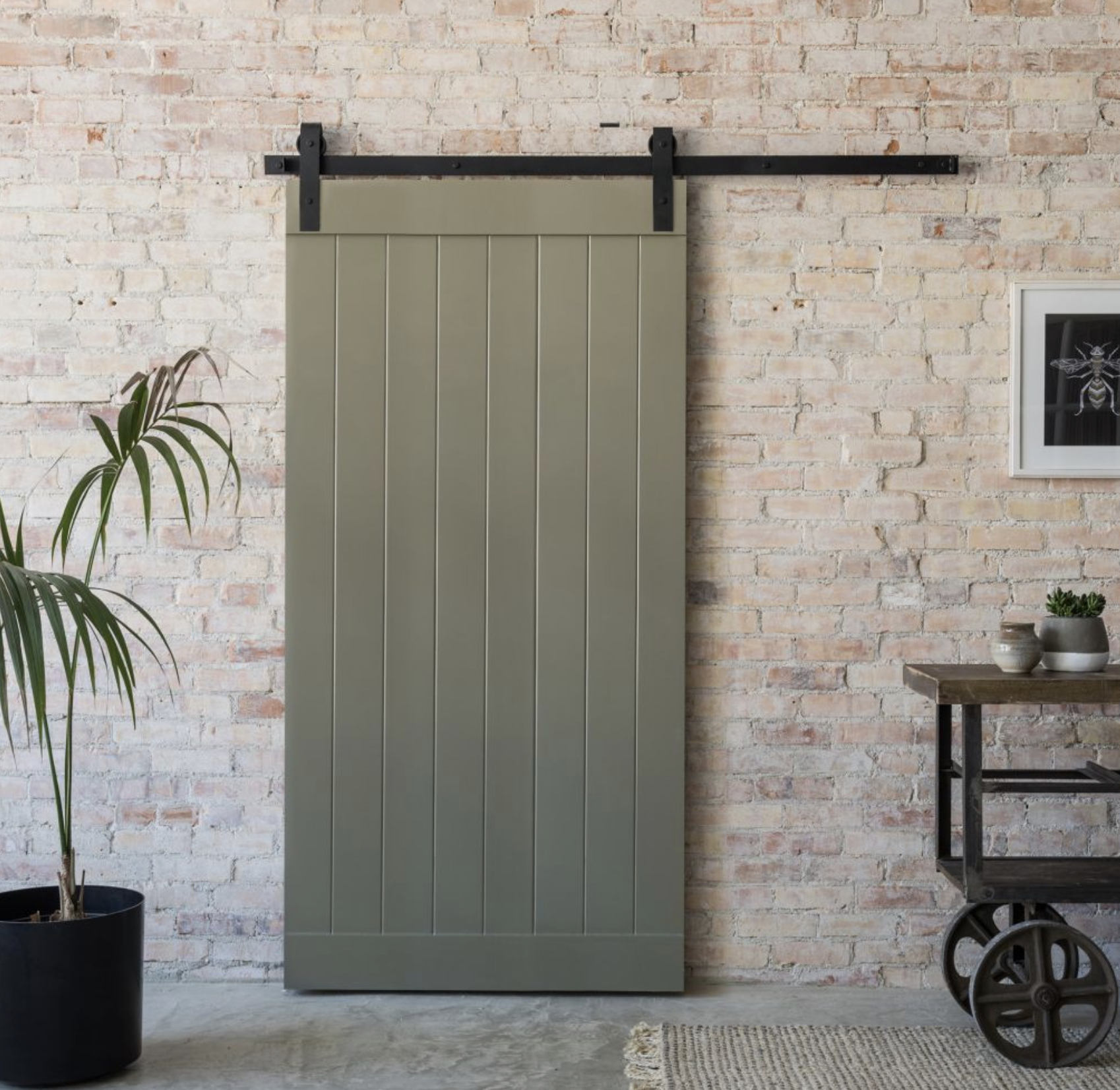 Sliding barn door kit by Sawyers of England