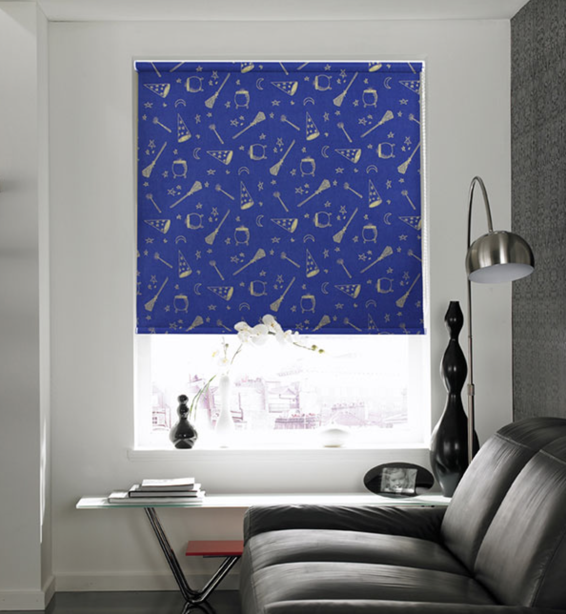 Roller blinds are very convenient