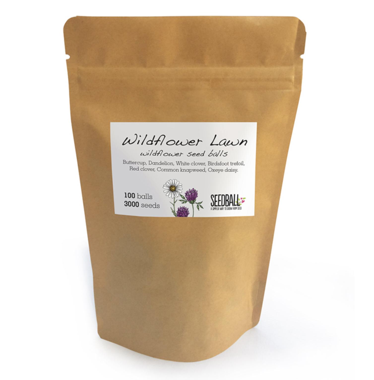 Partner's a keen wild garden fan? Seedball's £12 Wildflower bags will go down well