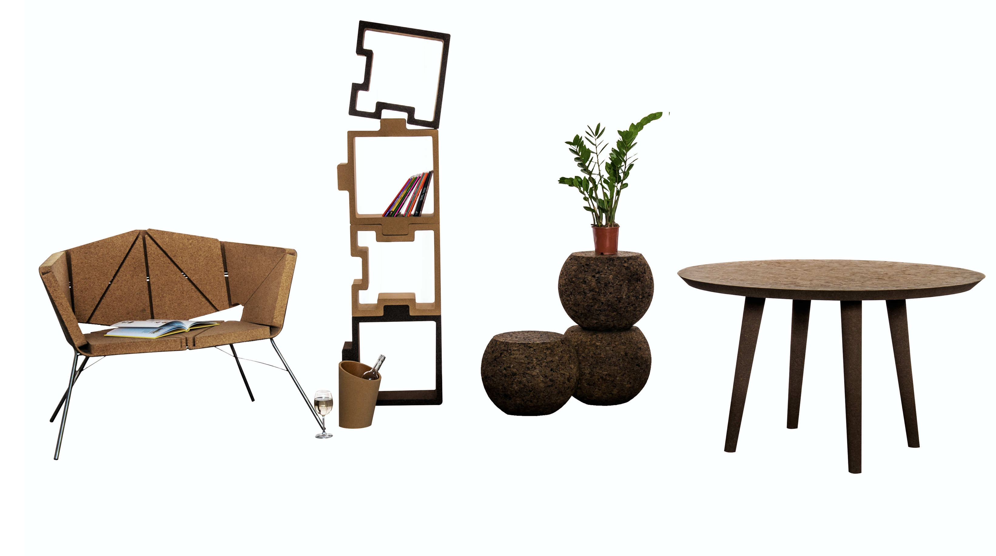 Corque Design make great furniture from cork. corquedesign.com