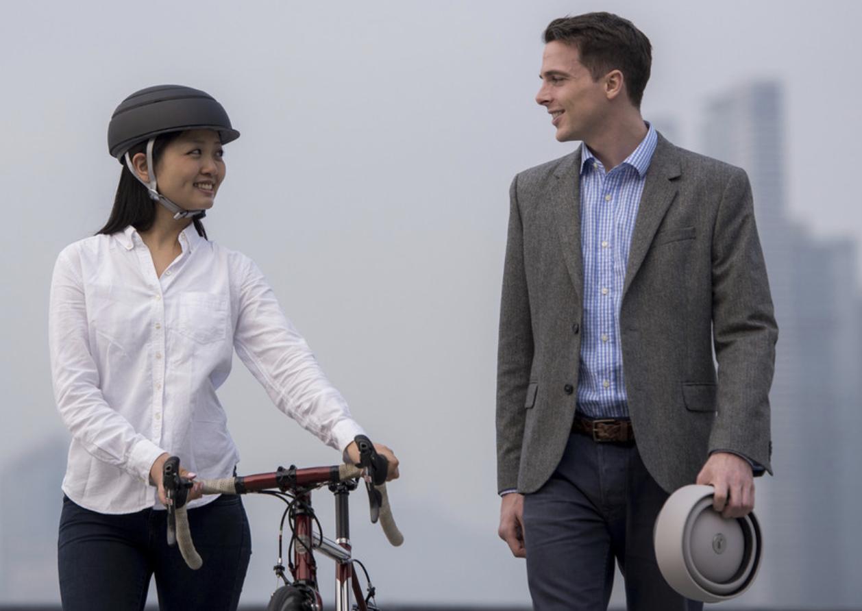 Closca folding helmets for safer easier cycling