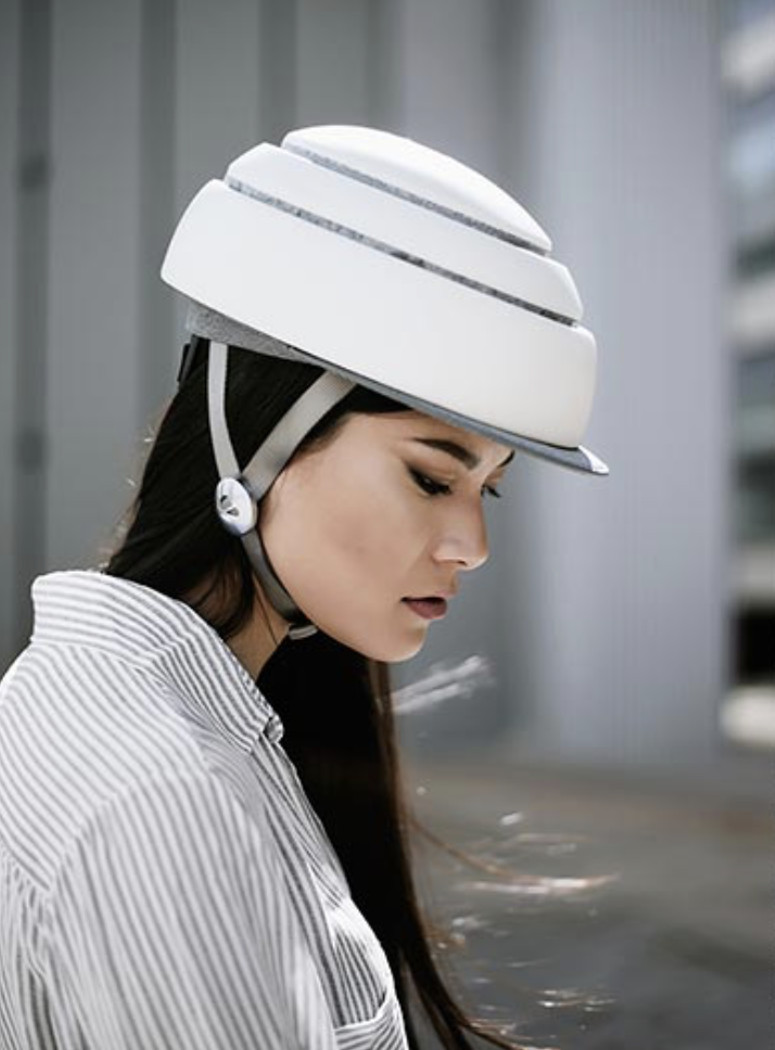 It's recommended cyclists wear helmets