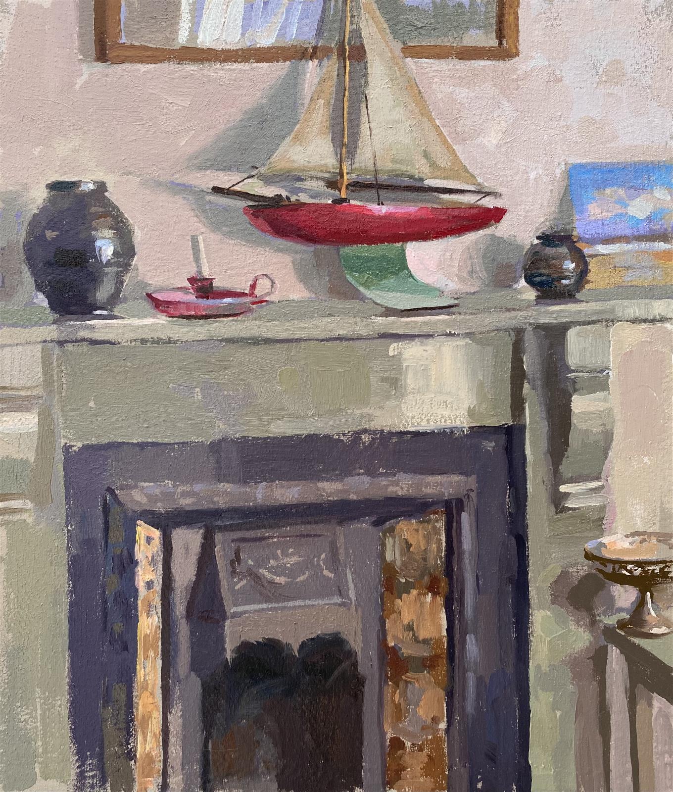 Summers Cottage Interior, Appledore, Jo Haidee