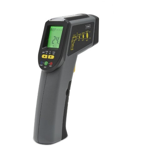 A thermal leak detector will help you find draughty areas to deal with. Trebs' device £69.95