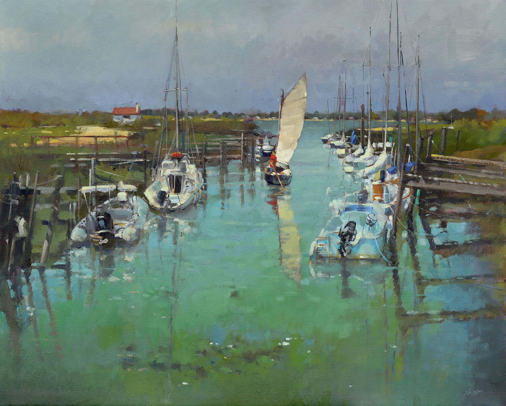 Tidal Creekby  John Walsom
