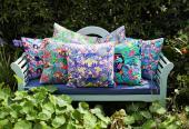 Artist Lisa Todd cushions
