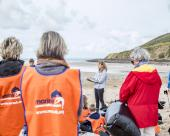 join a beach clean up