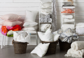IKEA bedding uses organic cotton as well as cotton/lyocell mix