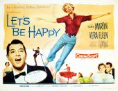 Let's Be Happy US film poster from 1957