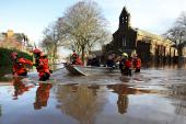 The recent floods in northern England devastated communities
