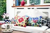 DesignRaaga products add colour but can be incorporated into modern homes