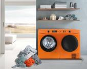 Gorenje A+++ rated W8543 Colour Edition washing machine and heat pump dryer